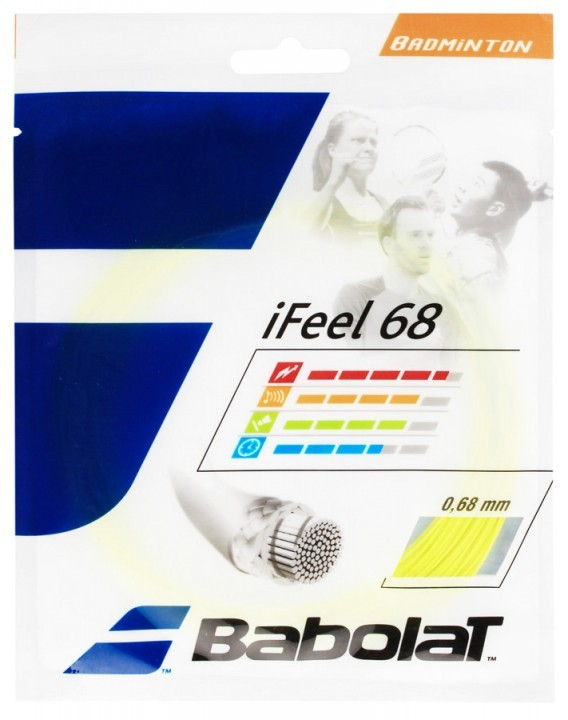 Babolat Naciąg 10,2m IFEEL 68 0,68mm Yellow
