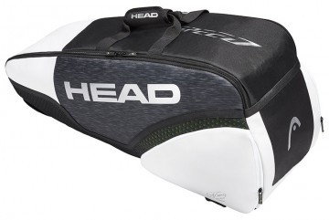 Head Djokovic 6R Combi Black White
