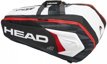 Head Djokovic 9R Supercombi Black White