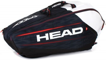 Head Djokovic 9R Monstercombi Black / White