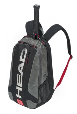 Head Elite Backpack Bk Rd
