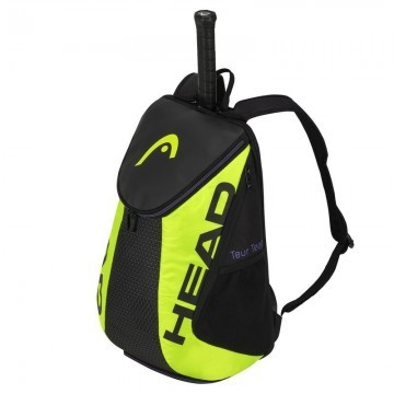 Head Tour Team Extreme Backpack Black / Neon Yellow