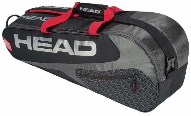Head Elite 6R Combi Black Red