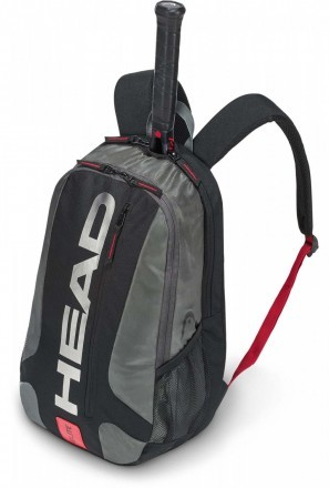 Head Elite Backpack Black Red