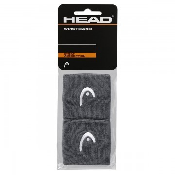 "Head Wristband 2.5"" Anthracite"