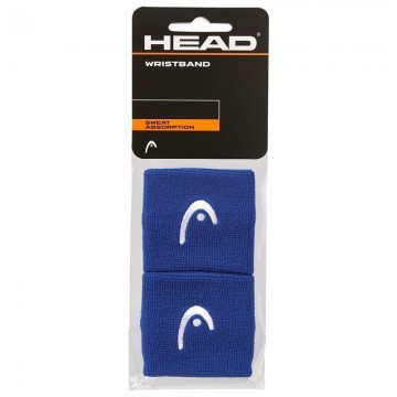 "Head Wristband 2,5"" Blue"