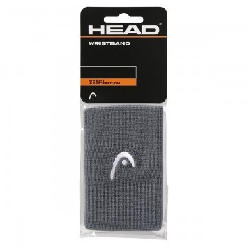 "Head Wristband 5"" Anthracite 2 szt."
