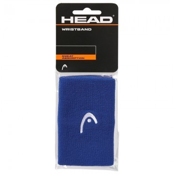 Head Wristband 5'' Blue