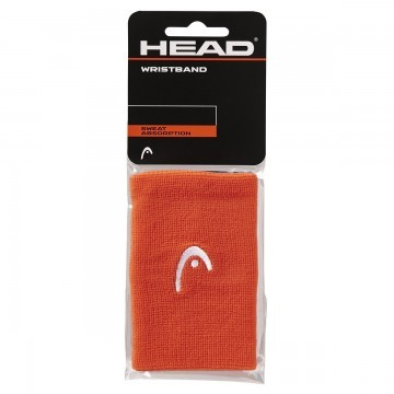 "Head Wristband 5"" Orange 2 szt."