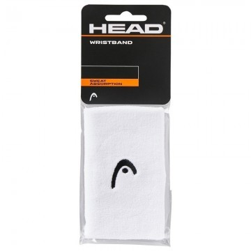 Head Wristband 5'' White