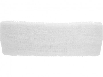 Asics Performance Head Band White Performance Black