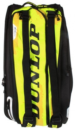 Dunlop Revolution NT 12R Racket Bag Yellow / Black