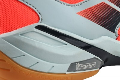 Babolat Shadow Spirit Orange / Grey buty do badmintona