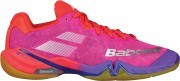 Babolat Shadow Tour Red Pink Purple buty do badmintona damskie