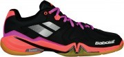 Babolat Shadow Spirit Black Purple Pink buty do badmintona damskie