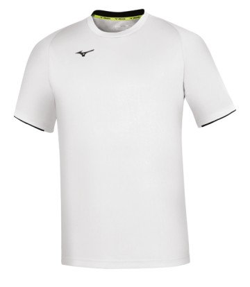 Mizuno Core Short Sleeve Tee White / Navy