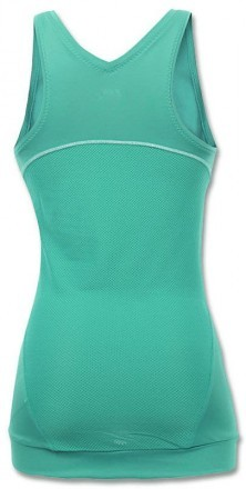 ASICS Break Tank Top Green Jade