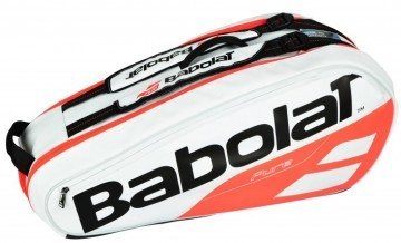 Babolat Thermobag 6R Pure Strike White / Pink