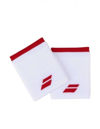 Babolat Wristband Jumbo White / Red