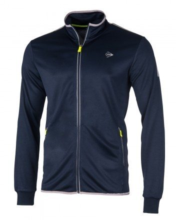 Dunlop Club Line Knitted Jacket Navy