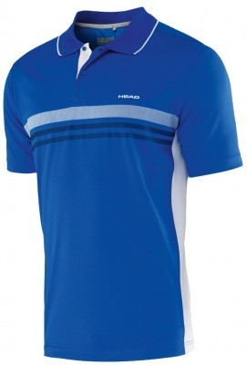 koszulka męska Head Club Polo Technical Blue