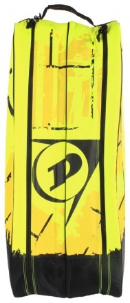 Dunlop Revolution NT 6R Racket Bag Yellow / Black