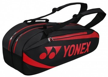Yonex 8926 Racket Bag Black Red