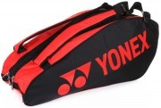 Yonex Pro Racket Bag Black/Red LTD torba do badmintona