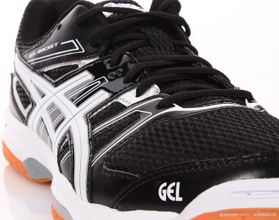 Asics Gel-Rocket 7 Czarne buty do badmintona