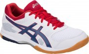 Asics Gel-Rocket 8 White / Deep Ocean buty do badmintona