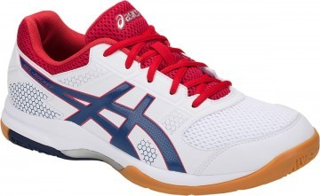 Asics Gel-Rocket 8 White / Deep Ocean