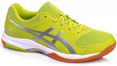Asics Gel-Rocket 8 Green/Silver/White buty do badmintona