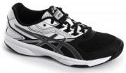 Asics Upcourt 2 Black White Silver buty do badmintona damskie