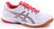 Asics Gel-Rocket 8 White Red Silver buty do badmintona damskie
