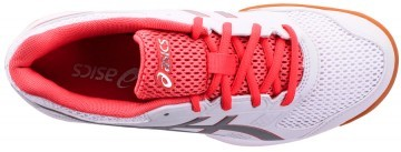 Asics Gel-Rocket 8 White Red Silver