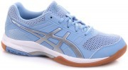 Asics Gel-Rocket 8 Blue/Silver/White <span class=lowerMust>buty do badmintona damskie</span>