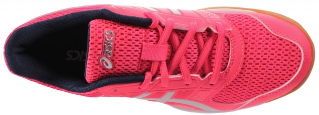 Ascis Gel-Rocket 8 Pink Glac Grey