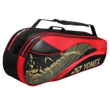 Yonex Racket Bag 6R Black / Red