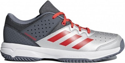 Adidas Court Stabil JR Silver Red