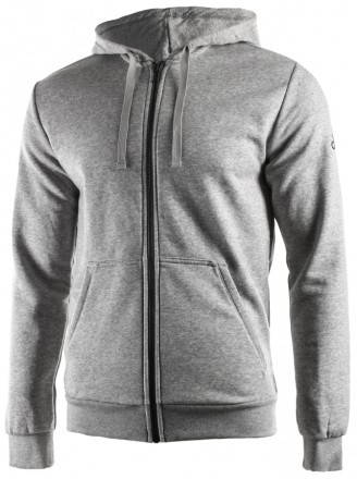 Adidas Essentials Base Full Zip Hoodie Grey