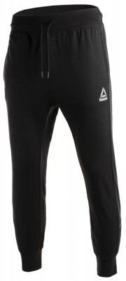 Reebok Workout Cotton Graphic Trackpant Black