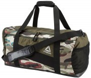 Reebok Active Enhanced Duffle GymBag 48L Army Green
