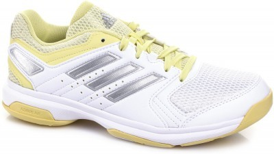Adidas Essence Woman Shoes White/Silver buty do badmintona damskie