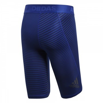 Adidas Alphaskin Leggins Sport Short Blue