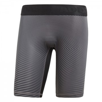 Adidas Alphaskin Leggins Sport Short Black Grey