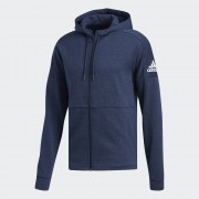 Adidas ID Stadium Full Zip Legend Ink Melange