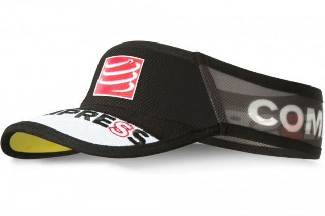Compressport UltraLight Visor Black