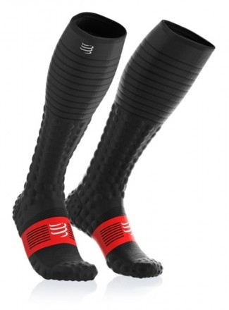 Compressport Full Socks Race & Recovery Black