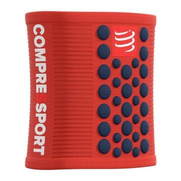 Compressport Sweatband 3D Dots Orange / Blue