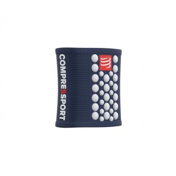 Compressport Sweatband Blue / White